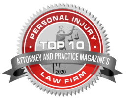 Personal Injury Law Firm Badge